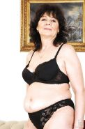 Helena May and Ann Marie La Sante young and mature strip together