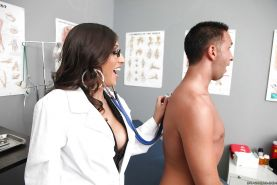 Dirty MILF in doctor's uniform Alexis Breeze is fucked hard