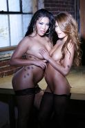 asian vixens London Keyes & Charmane Star make some wet lesbian action