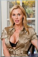 MILF with huge boobs and butt Tanya Tate spreading her long legs