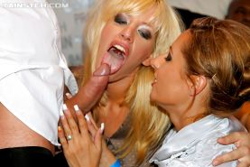 Voluptuous european cock hunters enjoy a fervent sex orgy at the wild party