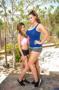 Alison Tyler and Heather Vahn are showing their naked bodies