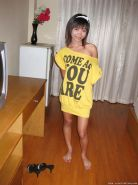 Sweet asian teen babe exposing her tiny tits and gets shagged #50048527