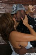 Filthy busty MILF Tara Holiday gets her cunt screwed by a black cock