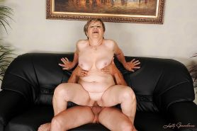 Lustful fatty granny gives a blowjob and gets slammed hardcore #51037417