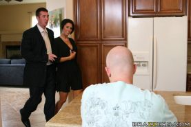 Busty MILF Dylan Ryder has wild hardcore sex with a big boner