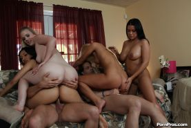 Amazing oiled ass of Ivana Sugar is being fucked with force!