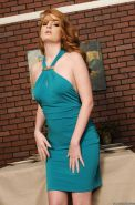 Fiery redhead MILF Faye Reagan exposing tender tits and big ass