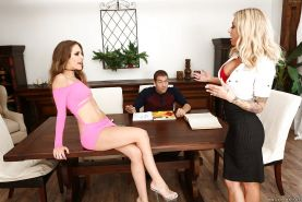 Mommy Synthia Fixx delights with daughter Kimmy Granger and ger bf