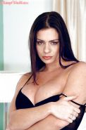 Euro solo girl Linsey Dawn McKenzie flaunts huge hooters while masturbating