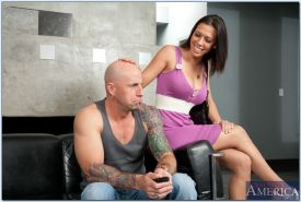 Rachel Starr with big tits loves big cocks in reality hardcore porn.