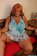Big black lady Princess unleashing her enormous black breasts