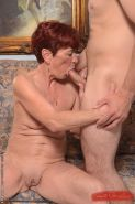 Beautiful granny Angela Reed enjoys hardcore sex with her young lover #50985072