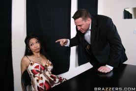 Asian MILF Mika Tan shows deepthroat blowjobs and proper fucking