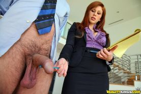 Lascivious babe Chanel Preston is into CFNM groupsex with her friends