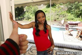 African beauty with tight ass Imani Rose enjoys hardcore sex