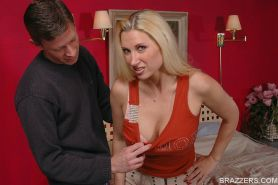 MILF babe with big boobs Trina Michaels gets fucked hardcore
