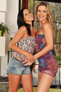 Hot lesbian sex in 69 pose with alluring models Angelica and Samantha