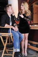 Foot fetish connoisseur AJ Applegate is drilled by experienced lover