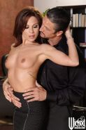 Amazing MILF babe Kirsten Price getting fucked hardcore blindfold
