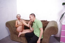 Lusty femdom Coco Velvet gets screwed and bangs her fucker by strapon