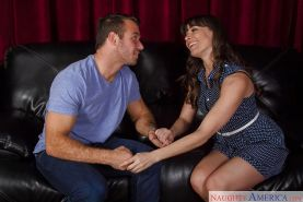 Hardcore milf Dana DeArmond is sucking his awesome horny prick