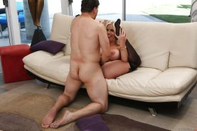 Milf with innocent Alura Jenson is being drilled in her mouth