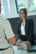 Sexy Latina broad Isabella gets her hairy pussy drilled in the office