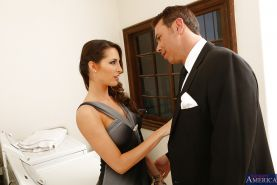 Handsome dude is banging tight cunt of the big tits babe Kortney Kane