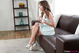 Amateur teen chick Kimmy Granger strips naked for your viewing pleasure