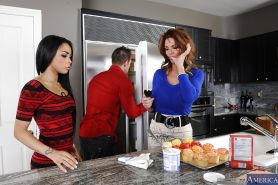 One hard prick is hunting for hot milfs Deauxma and Gulliana Alexis