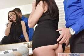 Hardcore doggystyle fucking in stockings for sexy wife Gracie Glam