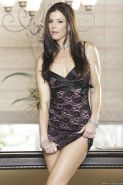 Seductive MILF India Summer taking off her dress and posing naked
