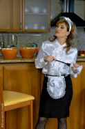 Fetish gal in pantyhose Tatiana Milovani has a messy foodplay with her friend