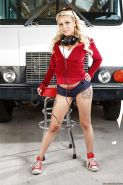 Milf Marsha May shows off her tattooed body and nice big boobs