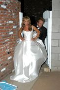 Milf bride Shayla LaVeaux is doing an amazing blowjob in a wedding dress