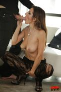 orny gal in pantyhose Alice Romain gets her asshole cocked up and creampied