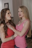 Avril Hall & Allison Moore make some passionate pussy licking action