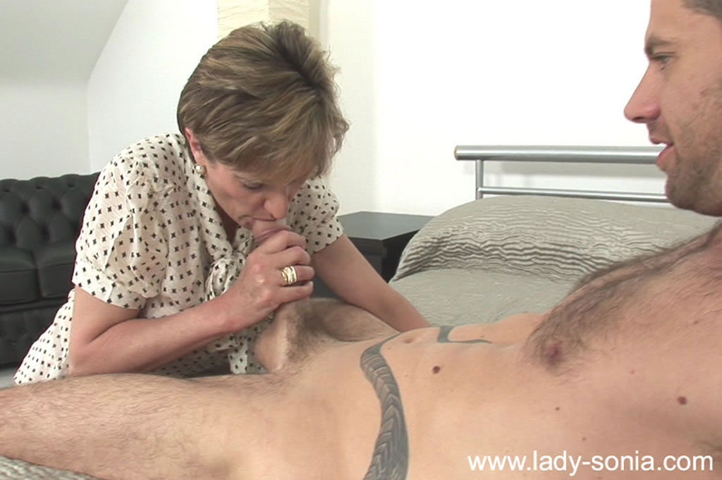 Mature lady with big tits gets a facial cumshot after hardcore fucking #51338721