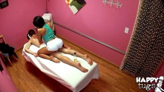Wooing asian massage girl Jayden Lee provides some extra services