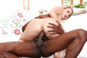 Hardcore interracial pics of pornstar AJ Applegate getting ass fucked