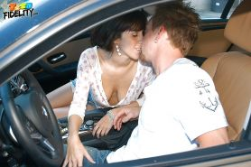 April O'Neil has her Latina puss pounded hard by a muscular guy