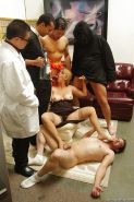 Fatty MILF Joclyn Stone is into hardcore groupsex with four horny guys