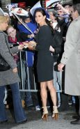Courteney Cox showing her beautiful legs in mini skirt paparazzi pictures