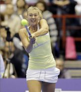 Maria Sharapova flashing her panties at the exhibition tennis match in Milan, It