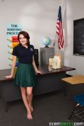 Cute teen Chase Ryder gets fucked hard in class
