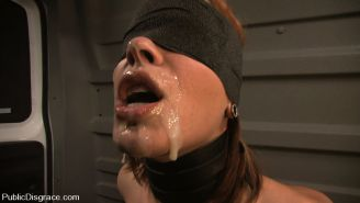 Dana DeArmond gets tied up and made to give head to strangers