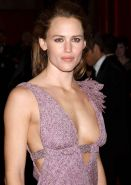 Jennifer Garner huge cleavage and posing sexy in lingerie