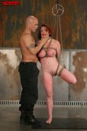 Kylie Ireland in tight anal bondage Milf Kylie all holes filled