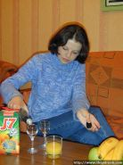 Young Russian teen gets drunk and caresses her tight slit